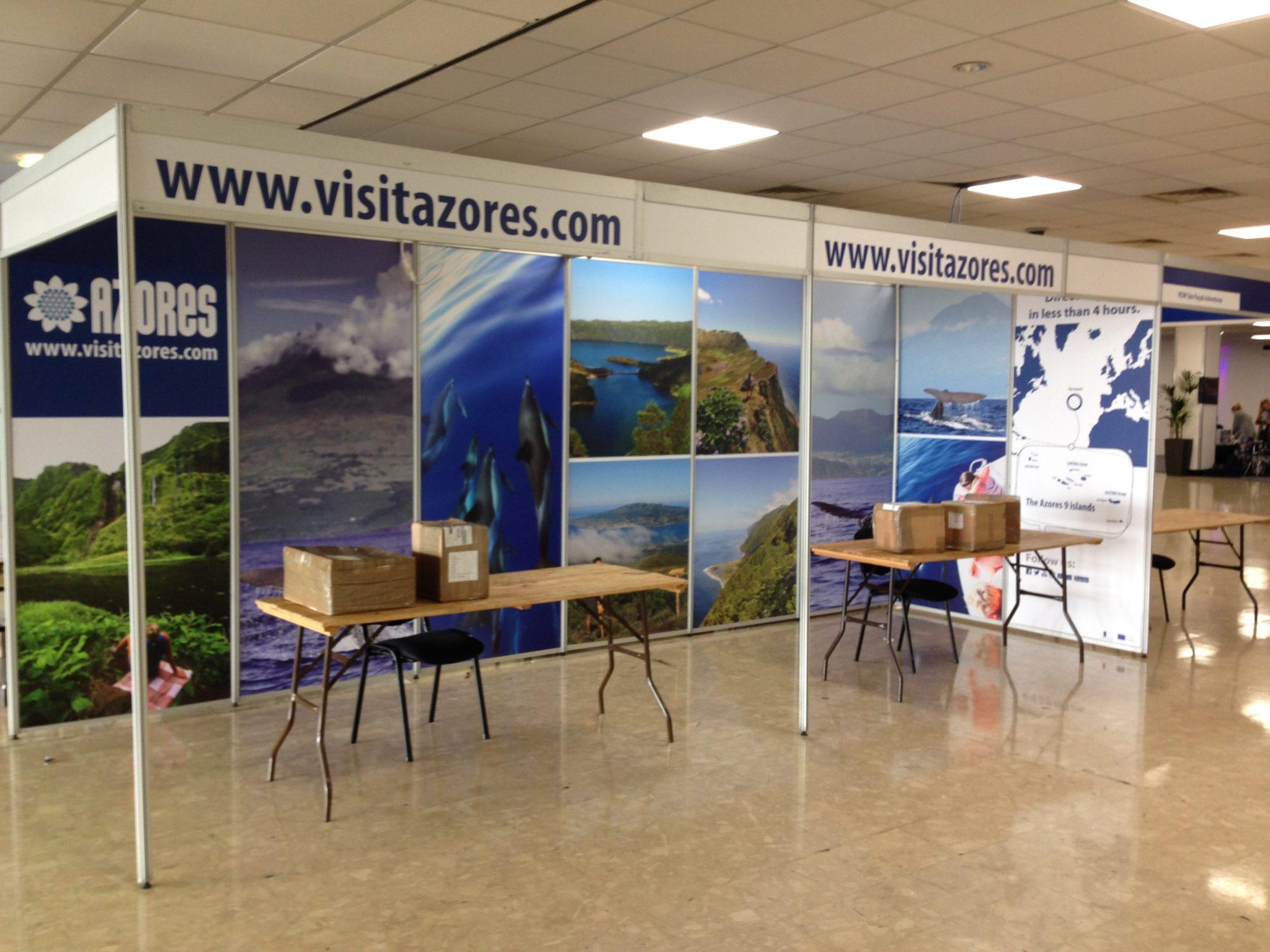 Exhibition Booth Standard Shell Scheme : Exhibition graphics x hibit