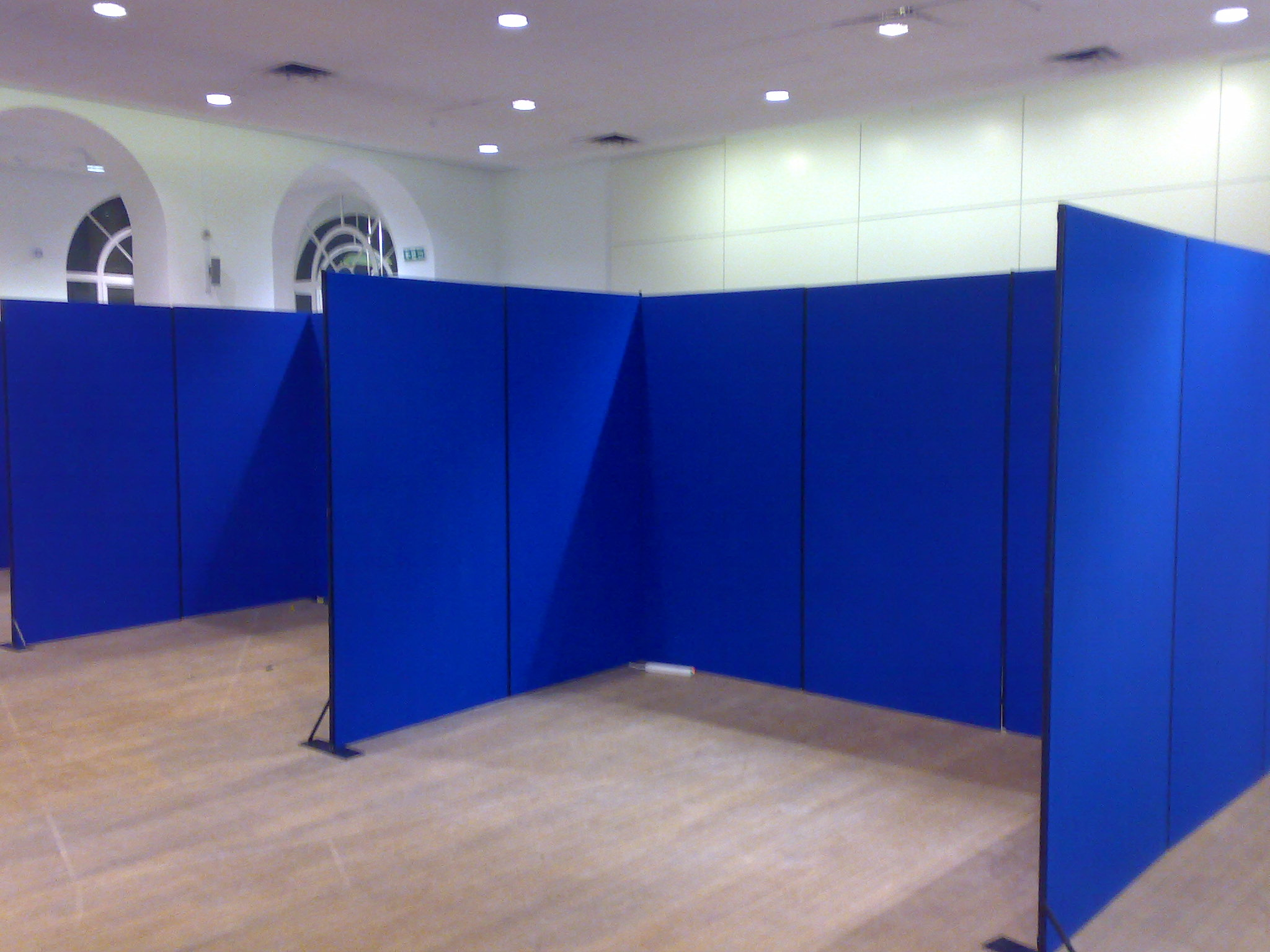 Exhibition Shell Scheme Panels : Panel pole shell scheme hibit