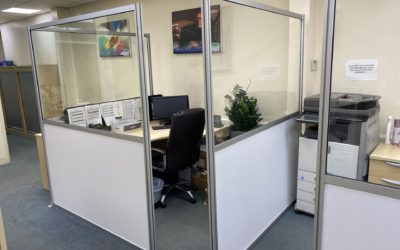 Dugdale Ltd Office Social Distancing Screening